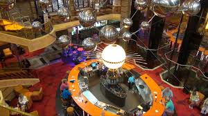 carnival sunshine overview part 1 lobby lounges game room
