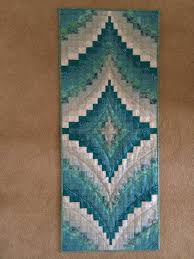 bargello table runner do this with first 4 colors being red