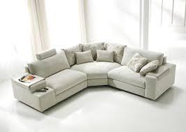 canapé cuir et microfibre acheter votre canapé d angle contemporain accoudoirs originaux