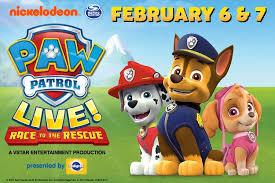 sangamon auditorium paw patrol live u201crace rescue u201d