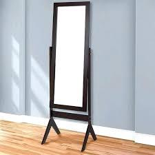 standing mirror jewelry cabinet mirror jewelry armoire russellarch com