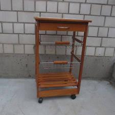 beistellwagen küche servierwagen holz ebay