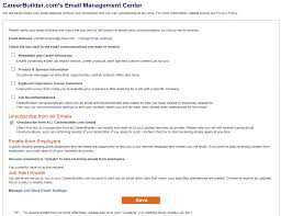 Job Based Resume by Remove Resume From Careerbuilder Resume For Your Job Application