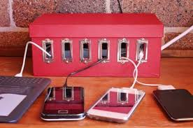 build a charging station how to diy shoe box charging station for your devices 5 steps
