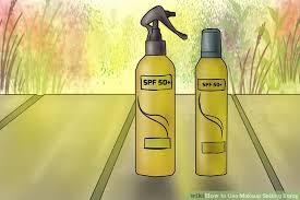 image led use makeup setting spray step 4