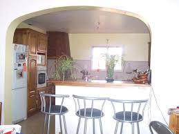 d馗o cuisine ouverte modele de cuisine ouverte sur salle a manger idee bar