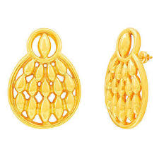 gold ear ring image gold earring rsbl criss cross gold earrings manufacturer from mumbai
