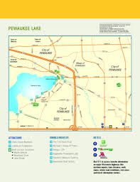 Wisconsin Lake Maps by Maps Visit Waukesha Pewaukee