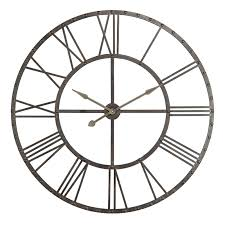 upton oversized wall clock 44 5 diam in hayneedle