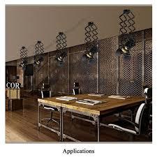 Kitchen Rail Lighting Ceiling Track Rail Lighting Accordion Pantograph Retractable Led