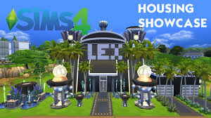 High Tech Home The Sims 4 High Tech Science Themed Home Showcase Youtube