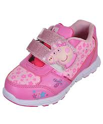light up sneakers peppa pig girls piggy straps light up sneakers the piggy store