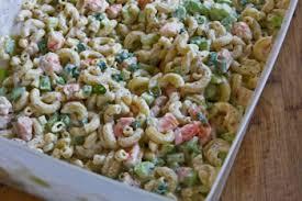 pasta salad with mayo family favorite shrimp and macaroni salad kalyn s kitchen
