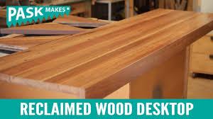 Diy Reclaimed Wood Desk Uncategorized Wood Desk Top Within Best Diy Inlaid Wood Desktop