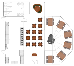 floor plan for a restaurant restaurant layouts how to create restaurant floor plan in minutes