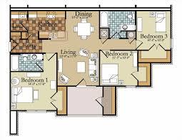 panorama 3 bedroom luxury apartment floor plans prime luxury