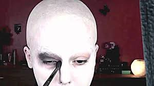 Addams Family Uncle Fester Halloween Costumes by Addams Family Uncle Fester Special Fx Makeup Tutorial Engl Youtube