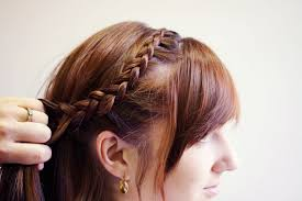 plait at back of head hairstyle curved dutch braid to messy bun tutorial makeup geek
