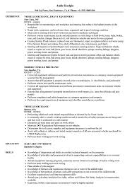 exle of a simple resume vehicle mechanic resume sles velvet