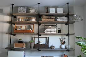 How To Make A Pipe Bookshelf Plumbing Pipe Shelves And Hangers Diy For Life
