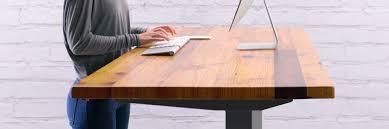 Stand Sit Desks by Height Adjustable Standing Desk Uplift Desk