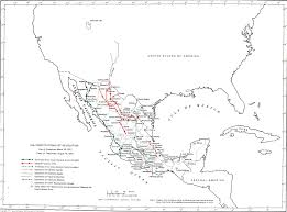 Map De Mexico by Mexico Map The Constitutionalist Revolution