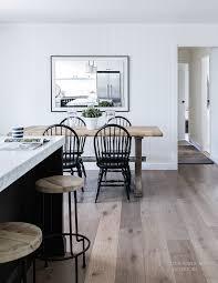 Scandi Dining Table Modern Scandi Inspired White Farmhouse Design Digsdigs