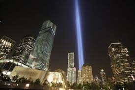 9 11 Memorial Lights Honoring Sept 11 At The 9 11 Memorial National September 11