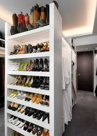 bedroom inspiring cove lighting and shoe storage for walk in