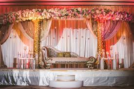 wedding venue backdrop imperial decor