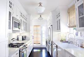 Contemporary Kitchen Lighting Galley Kitchen Lighting Looks