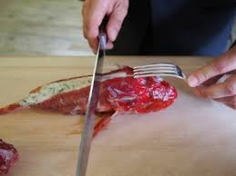 comment cuisiner la rascasse technique de salle la découpe de la rascasse chez gilles goujon