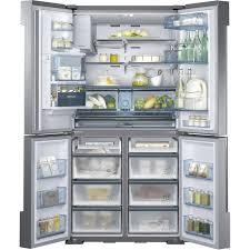 Samsung French Door Refrigerator Cu Ft - samsung rf34h9950s4 34 cu ft capacity 4 door flex french door