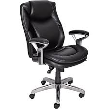 Serta Office Chair Review Buy Serta 44103 Mid Back Office Chair Black At Staples Com Staples