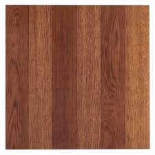 Sticky Back Laminate Flooring Nexus Medium Oak Plank Look 12x12 Self Adhesive Vinyl Floor Tile