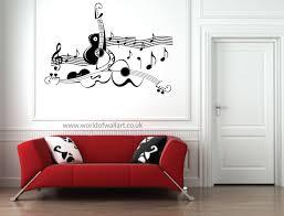 Music Note Wall Decor Wall Art Designs Guitar Wall Art Guitar Music Score Wall Art