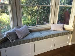 Seat Bench Cushions Hand Crafted Custom Hand Tufted Mattress Cushion Window Seat