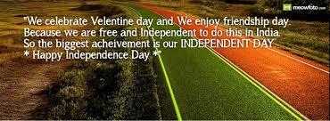 we celebrate velentine day and we enjoy friendship day because we