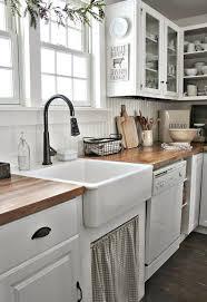 farmhouse kitchen ideas on a budget 40 beautiful farmhouse kitchen makeover ideas on a budget