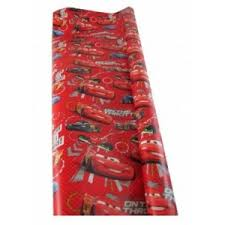car wrapping paper roll of disney car gift wrapping paper