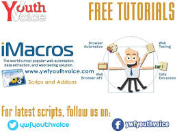 javascript imacros tutorial imacros working tutorials latest scripts and browser addons