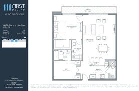 floor plans 111 first delray beach homes resort style living download plancontact a sales team member