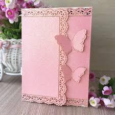 Luxury Wedding Invitation Cards Online Get Cheap Pink Wedding Invitation Aliexpress Com Alibaba