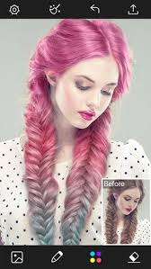 see yourself with different color hair hair color changer styles salon recolor booth on the app store