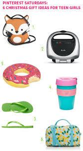 pinterest saturdays 6 christmas gift ideas for teen girls on