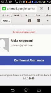 cara membuat akun gmail untuk facebook cara mudah membuat facebook di hp android