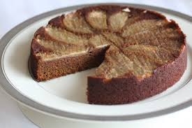 upside down gingerbread pear cake aip paleo eat heal thrive