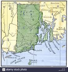 map rhode island rhode island map stock photos rhode island map stock images alamy