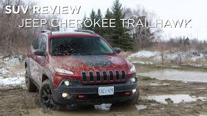 suv jeep cherokee suv review 2017 jeep cherokee trailhawk driving ca youtube
