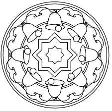 christmas mandalas coloring 13 funnycrafts